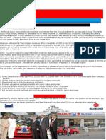 Maruti Suzuki Direct Recruitmaent Notification Letter.