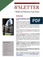 Newsletter T&P N°48 Eng