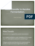 Mass Transfer in Aerobic Fermentation