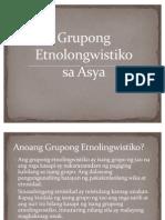 Grupong Etnolongwistiko