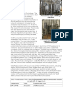 Pasteurization