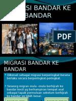 Migrasi Bandar Ke Bandar