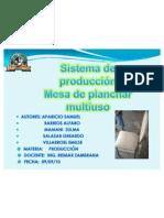 PRODUCCION SILLA