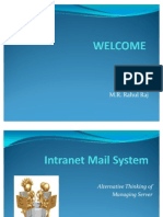 12800546 Rahul Intranet Mailing System Rahul Raj