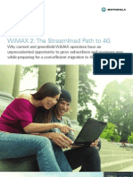 WiMAX2 the Streamlined Path to 4G Whitepaper