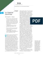 Intro to Capital Controls
