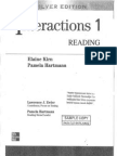Interactions 1 Reading