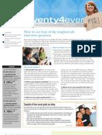 Twenty4ever, June 2011 Newsletter