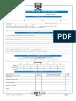 RiteAid Employment Application