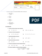 EXAMEN MENSUAL MATEMATICA 1 - 3° II B
