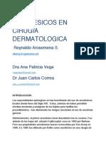 Anestésicos en cirugía dermatológica