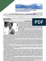 Boletín Nº 5 de la Comisión de Exiliados Argentinos en Madrid