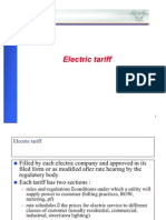 Electric Tariff