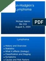 Non Hodgkins Lymphoma 1
