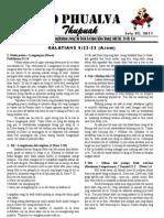 Zo Phualva Thupuak - Volume 01, Issue 07