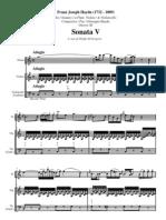 Haydn Trio5 Partitura