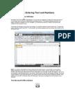 Excel Document