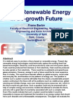 Frano Barbir Role of Renewable Energy