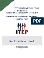 Itep Pilot Implementation Guide 2june 2011 Final