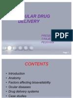 Ocular Drug Delivery Final