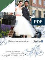 Radisson Wedding Brochure 2011 Web
