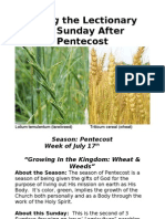 Living the Lecionary - 5thSundayAfterPentecost