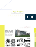 Portafolio Arquitectura Daniel Santisteban 2011