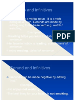 Gerunds and Infinitives...