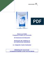 2006 - Confer en CIA Lic. Alejandro Castro Santander