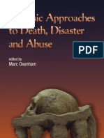 Forensic Approaches to Death Disaster and Abuse