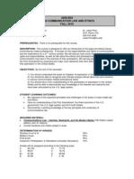 MMC 4200 - Syllabus - Fall '10