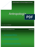 Antropologia - 1  aula