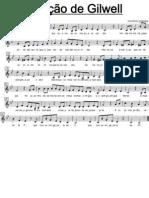 Partitura - Canção de Giwell - Quando A Fogueira Abaixa