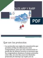 Protocolo ARP y RARP