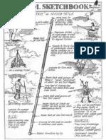 Hiking Stick - Verdadeiro Bastão Escoteiro