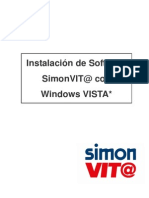 Instalación Software SimonVIT@ con Windows VISTA