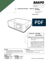 1 Pdfsam Sanyo PLV-Z5 Service Manual