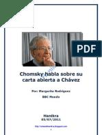 Chomsky habla sobre su carta abierta a Chávez