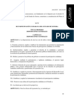 Ley de Participación Ciudadana Completa