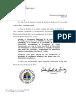 Certificacion 141, 2010-2011, JS Aprobando Presupuesto Funcional Año Fiscal 2011-2012