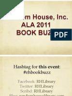 2011 ALA Book Buzz Handout