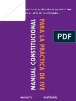 'Guía Constitucional para la práctica del IVE'-Women's Link WorldWide