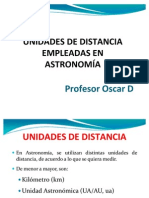 Unidades de Distancia Empleadas en Astronomia