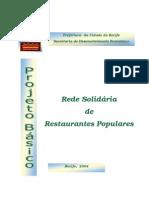 Projeto Rede de Restaurantes