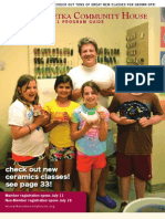 WCH Fall Program Guide 2011