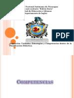 Didactica Competencias Estrategias y Unidades Que Comforman La Planificacion Didactica
