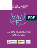 Mujeres Transformando - Manual Derechos Laborales