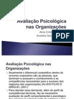Avaliação Psicológica nas Organizações (2)