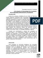 Función de la ciencia y la tecnología en el contexto de la seguridad internacional y el desarme