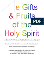 Gifts & Fruits of the Holy Spirit Faith Folder